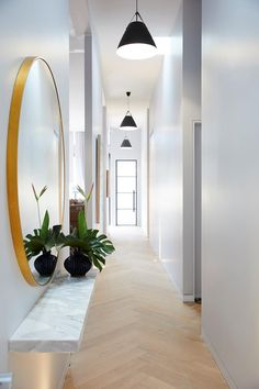 2017 Trends for Modern Hallway Design Apartments is about creating the best lobby design standards to create comfort in your home so that it creates the ideal l Lobby Design, Design Room, House Design, Interior Design, Lobby Interior, Interior Ideas, Modern Interior, Interior Styling, Entryway Lighting