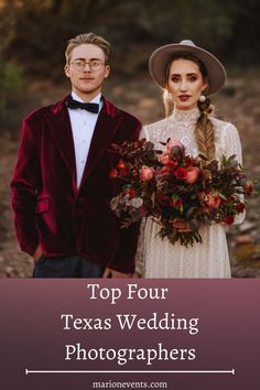 """Are you preparing to say """"I do"""" in the Texas area? Use this list of some of our favorite photographers to work with, like Silver Bear Creative(pictured above), to find the best photos for your special day! We love working with photographers who know how to convey the intimate, romantic, and special moments from your wedding day!#marionmatrimonyevents #texaswedding #weddingphotography #weddingvendors Bohemian Wedding Decorations, Wedding Themes, Wedding Tips, Wedding Vendors, Wedding Couples, Wedding Colors, Wedding Dresses, Nontraditional Wedding Ceremony, Wedding Ceremony Flowers"""