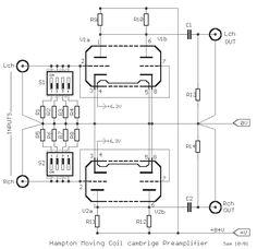 Hampton MC preamplifier schematic