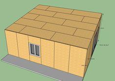 fabrication d'un double garage ossature bois - Page 4 - Forum copain des copeaux Double Garage, My Mets, Built In Storage, Facade, Construction, Building, Color Combos, Law School, Double Carport