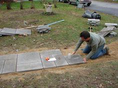 15 Einfach zu Epoxy Pea Gravel Patio in Ihrem Haus zu installieren - Modern Slate Walkway, Front Yard Walkway, Outdoor Walkway, Brick Walkway, Concrete Walkway, Pergola Patio, Front Yard Landscaping, Pergola Shade, Pergola Kits