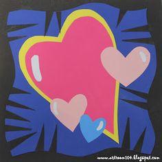 Art Room 104: Burton Morris Pop Art Hearts