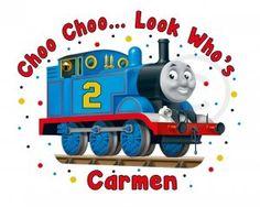 Personalized Thomas Shirt for His Birthday!