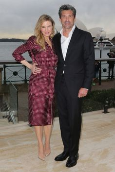 22 August Renée Zellweger opted for a silky polka-dot dress as she promoted…