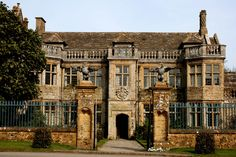 Front view of Mapperton House in Dorset used in Far From the Madding Crown