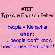 """Kostenlos #Englisch_Lernen - #TEF Typische #Englisch_Fehler Folge 3 - benutze niemals """"peopleS"""" !"""