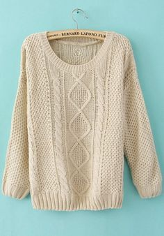 over-sized winter sweater