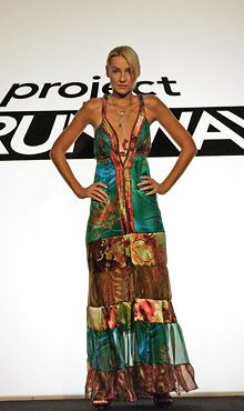 Love this designer, she was on Project Runway and I have always wanted a wedding dress designed by her (or copied)  Uli Herzner