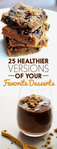 25 Healthier Versions Of Your Favorite Desserts