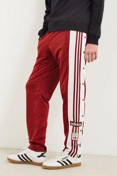 londra adidas originali mens formazione pantaloni bianco, rosso di comprare questo