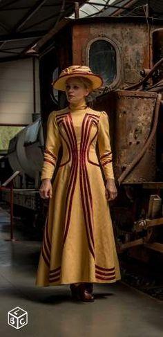 Tenue, costume, robe 1900, belle époque, Titanic