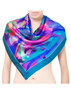 silk scarf fabryan