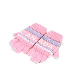 Pink Canada 2 In 1 Gloves Winter Collection 2016