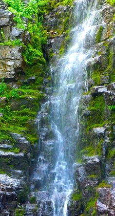 ~ Waterfall ~ Mt. Timpanogos, Utah....