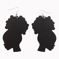 We think that you will love our extensive collection of Natural Hair and Afrocentric earrings. Click the PIN to see this awesome pair of earrings and more on our site. #naturalhair #naturalhairearrings #afrocentric #afrocentricearrings