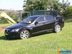 COMMODORE CALAIS V 07 black car black leather  #holden #commodorevecalaisv #forsale #australia