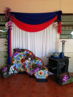 Independence Day, Fourth Of July, Ideas Para, Backdrops, Curtains, Pictures, Crafts, Design, Home Decor