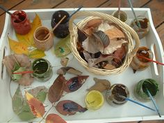 Exploring Autumn leaves and a tour through the Reggio-inspired Boulder Journey school {from Boulder Journey School}