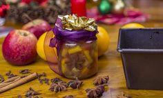 Domácí pečený čaj z 5 druhů ovoce s vánočním kořením