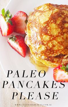 Who knew Paleo pancakes could taste so good - with so few ingredients too! This recipe uses just TWO ingredients, is great for your health and (of course) has no processed sugar!