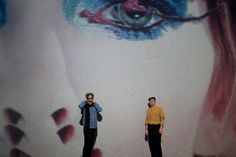 The Creators Project DUMBO: Installation Slideshow.  Life on Mars Revisited by David Bowie, Mick Rock and Barney Clay.