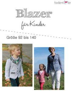 """eBook - """"Blazer Kinder"""" - Fadenkäfer - Glückpunkt."""