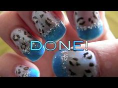 WILD LIFE BLUE Leopard Nails, Nail Art Videos, Shape And Form, Wild Life, Different Shapes, Blue, Wildlife Nature