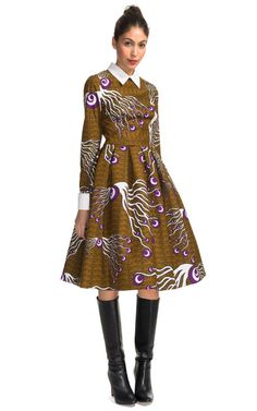 Dericia Dress by Stella Jean for Preorder on Moda Operandi