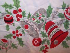 Reply, christmas tablecloth vintage