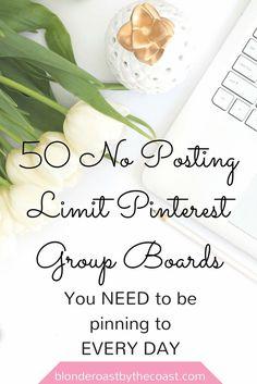 50 No Posting Limit
