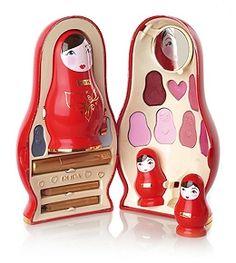 Matryoshka Russian Nesting Doll Makeup Kit from Pupa Cosmetics Doll Makeup, Makeup Box, Makeup Ideas, Sexy Makeup, Cute Makeup, Beauty Packaging, Cute Packaging, Cosmetic Packaging, Pupa Cosmetics