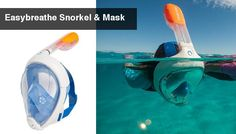 easy breathe snorkel and mask