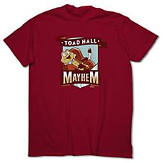 March Magic Tee for Adults - Toad Hall Mayhem - Limited Availability. Mr. Toad's Wild Ride at Disneyland Resort