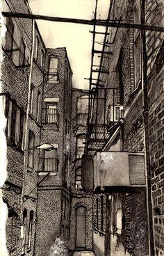 City Alley  by Zachary Johnson