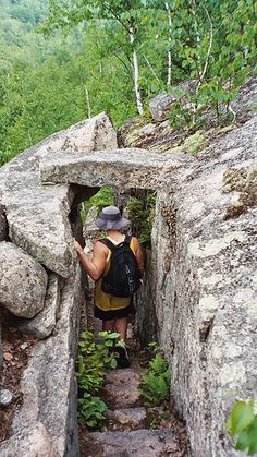 Go Hiking at Acadia in Bar Harbor, Maine on your honeymoon or wedding weekend when you are staying at the Atlantic Oceanside Hotel #marryinmaine