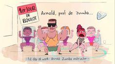 Ein spassiges Stück Werbung vom Pariser Animations-Schuppen Supamonks, die niemand Geringeren als Arnold Schwarzenegger zum Zumba-Trainer im Fitness-Studio machen. Wofür der Spot wirbt, lassen wir erst mal aussen vor Sehr schöne Idee, tolle Animation, passender (Pop)Kultur-Bezug und schneller Humor. Gibt es noch ein paar weitere Spots aus der Kampagne, bei denen auch die kleinen Giraffen [ ]