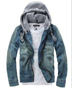 cedb0726afc Cheap mens denim jacket