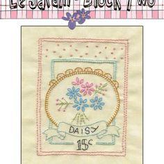 FREE Block 2-Le Jardin- Daisy