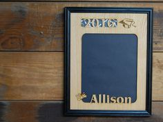 11x14 Personalized Graduation Picture Frame, High School College Graduation Gift, 2016 Graduate, Laser Engraved Frame by legacyimages on Etsy
