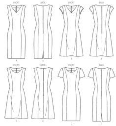M6920   Misses'/Miss Petite/Women's/Women's Petite Dresses   New Sewing Patterns   McCall's Patterns