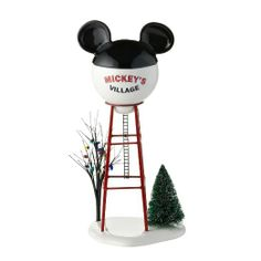 Amazon.com - Department 56 Disney Village Mickey Water Tower General Accessory, 11.875-Inch