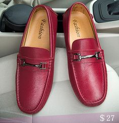 941dbae12cbe US  27 Genuine Leather Luxury Brand Men Loafers High Quality Driving Swag  Soft Comfy Formal Driving