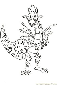 Dragon Coloring Page 17 coloring page - Free Printable Coloring Pages
