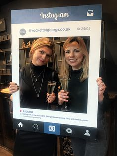 Instagram frame at the Rockett St George Housewarming Launch Party at Liberty London #rockettstgeorge #liberty #london #libertylondon #launch #event #housewarming #city #rsg #interiors #interior #homeware #home #house #inspiration #customer #party #cocktails #alcohol #glitter