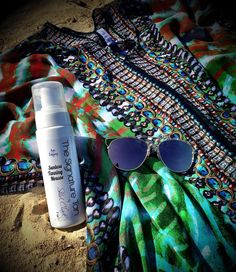 Grab a bottle on the go for your travels!!  SC Sunless Tanning Mousse is ALL #Organic #Agedefying and SO easy to apply!  Order on our website!  #Sun #SaveSkin #Beach #BeachLife #Bahamas #boatlife #Jamaica #TheSignatureTan #LA #Miami #Chicago #ShirlClarkCollection #SunlessTanning  #bronzedbeauty $30 6/full body applications! #Kaftan #Kimono  Contact us to book an airbrush session!  www.ShirlClark.com @shirlclarkcollection