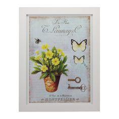 Quadro Vintage La Fleur - Col. Exclusiva