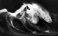 ruth ray horse | Ruth Ray, American Artist: White Manes