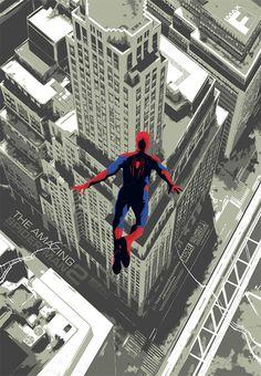 Pôsteres rejeitados de Homem-Aranha 2