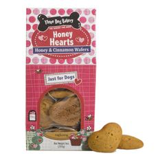 Back by Pup-ular demand! It's love at first bite with Three Dog Bakery's Honey Hearts!