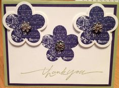 Thank you by zousha - Cards and Paper Crafts at Splitcoaststampers